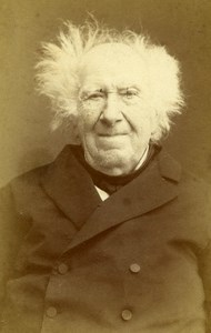 France Paris Scientist Eugene Chevreul Old CDV Photo Langlois 1880