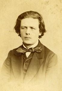 France Paris Composer Anton Rubinstein Old CDV Photo Reutlinger 1870