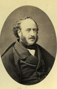 France Paris Jules Simon Philosoph Old CDV Photo Petit 1865