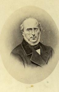 France Paris Pierre Matthieu Bodet Politician Old CDV Photo Petit 1865
