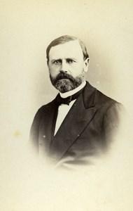 France Vichy Scientist Doctor Lundberg Old CDV Photo Couton 1865