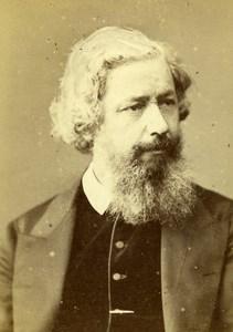 United Kingdom London Georges Dawson Old CDV Photo Elliott & Fry 1865