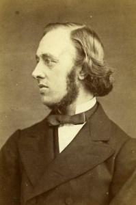 United Kingdom London W E H Lecky Historian Old CDV Photo Elliott & Fry 1865