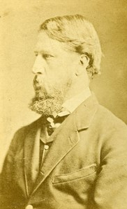 United Kingdom London Marchion of Hartington Old CDV Photo Anonymous 1865