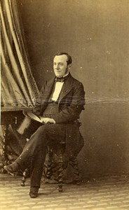France Minister Adolphe Billault Old CDV Photo Disderi 1865