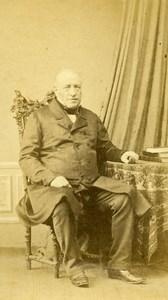 France Mayenne Figure Michenon Clerambault Old CDV Photo Michenon 1865