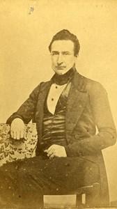France Mayenne Figure Laval Edouard Vilfeu Old CDV Photo Disderi 1865
