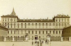 Italy Torino Royal Palace Old CDV Photo Brogi 1870
