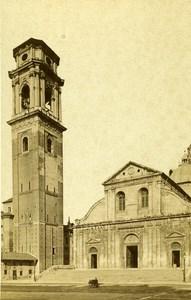 Italy Torino Chiesa di San Giovanni Old CDV Photo Brogi 1870