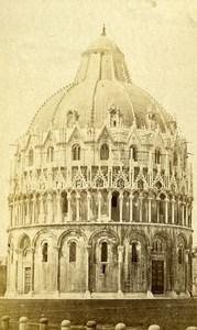 Italy Pisa il Duomo Old CDV Photo Van Lint 1870