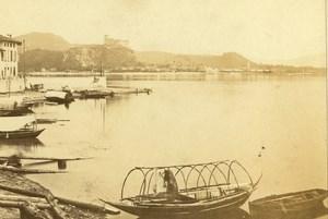 Italia Lago Maggiore Old CDV Photo Degoix 1870