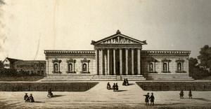 Germany Munich Glyptothek Old CDV Photo 1870
