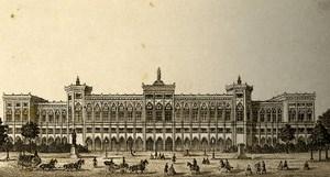 Germany Munich Regional Palace Old CDV Photo 1870