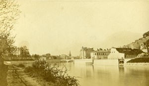 France Dauphine Grenoble Old CDV Photo Michaud 1870