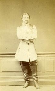 United Kingdom London Man Victorian Fashion Old CDV Photo Hill & Saunders 1870