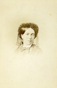 France Paris Countess of Bourbon Busset Old CDV Photo Lejeune 1870