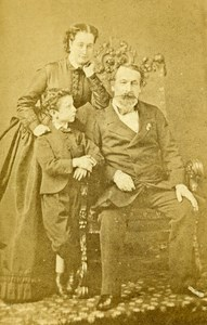 France Paris Napoleon III Imperial Family Old CDV Photo Levitsky 1860