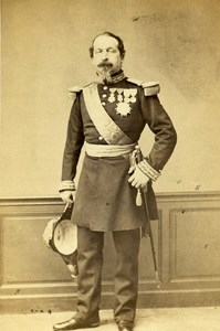 France Paris Emperor Napoleon III Old CDV Photo Mayer & Pierson 1870