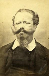 Italy Milano King Victor Emmanuel Old CDV Photo Duroni 1870