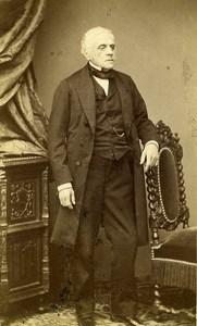 France Paris Composer Francois Esprit Auber Old CDV Photo Erwin 1870