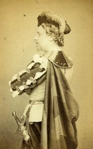 English Opera London Baryton Charles Santley Faust Old CDV Photo Hering 1865