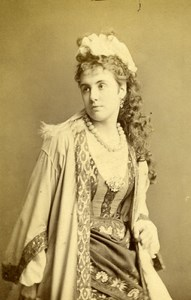 English Theater London Actress Ada Neilson Old CDV Photo LSC 1865