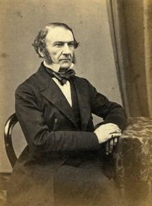 English Politician London William Gladstone Old CDV Photo LSC 1865