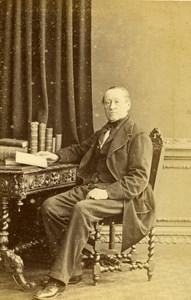 English Politician Alexander Cockburn Lord Chief Justice CDV Photo Window 1865
