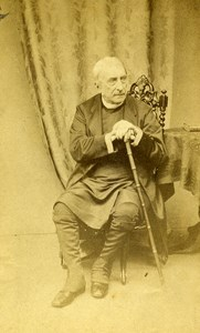 Scottish Bishop Edinburgh Charles Terrot Old CDV Photo Moffat 1865