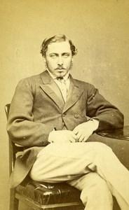 English Royalty London Prince Alfred Duke of Edinburgh CDV Photo Russell 1865