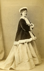 English Theater London Actress Kate Terry Old CDV Photo LSC 1865