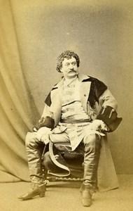 English Theater London Actor John Brougham Old CDV Photo LSC 1865