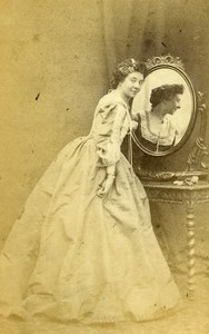 English Theater London Actress Howard Paul Old CDV Photo Beau 1865
