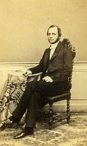French Medecine Paris Doctor Constantin James Old CDV Photo Alexandre 1870