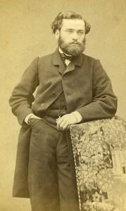 French Medecine Paris Doctor Henry Byasson Old CDV Photo Petit 1870