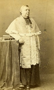 French Marine Paris Father Felix Coquereau Old CDV Photo Bayard 1870