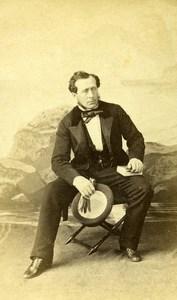 French Medecine Paris Leroy d'Etiolles Old CDV Photo Moulin 1870