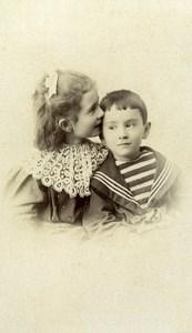 French Aristocracy Louis & Henriette Rioult de Neuville CDV Photo Hermann 1895