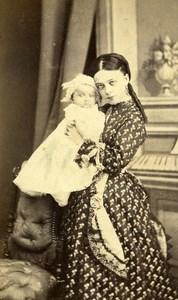 French Aristocracy Toulouse Vicomtesse de Villele Old CDV Photo Provost 1870