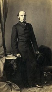 French Medecine Strasbourg Docteur Leon Coze Old CDV Photo Winter 1870