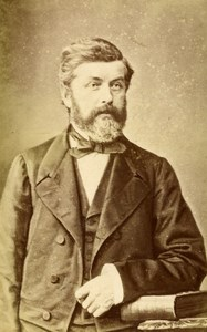 French Aristocracy Lyon Theodore Tassy de Montluc Old CDV Photo Victoire 1880