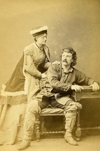 London Theater Actor Henry Gartside Neville Old CDV Photo LSC 1864