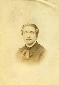 London Theater Actor Fred Hughes Old CDV Photo Tapping 1864