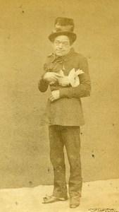 London Theater Actor Widdicombe Old CDV Photo Beau 1864