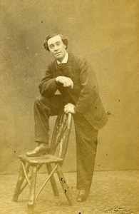 London Theater Actor Mr Shore Old CDV Photo Beau 1864