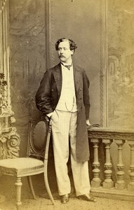London Theater Actor Charles Old CDV Photo Southwell 1864