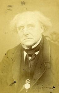 London Theater Actor Robert Keeley Old CDV Photo Beau 1864