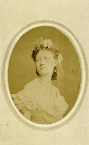 London Theater Actress Kate Terry Old CDV Photo Southwell 1864