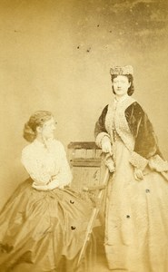 London Theater Actress Kate Terry Old CDV Photo Walker 1864