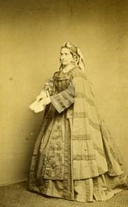 London Theater Actress Miss Celeste Old CDV Photo Walker 1864